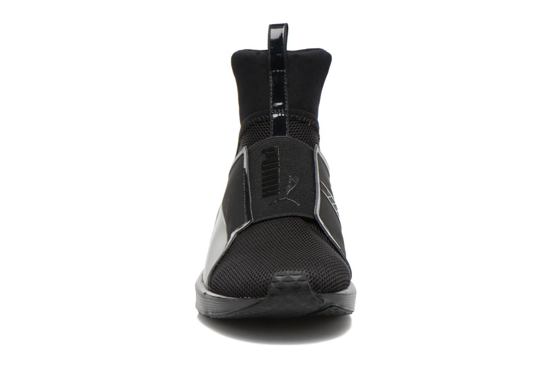 Chaussures de sport Puma WNS Fierce Core Noir vue portées chaussures