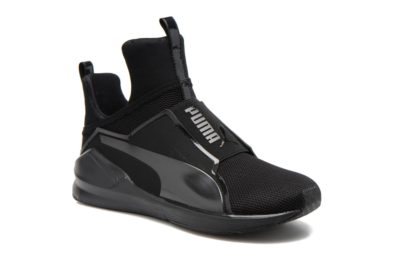 Chaussures de sport Puma WNS Fierce Core Noir vue détail/paire