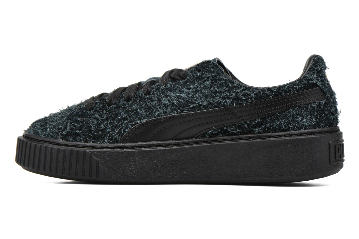 Trainers Puma Suede Creeper Elemental Black front view