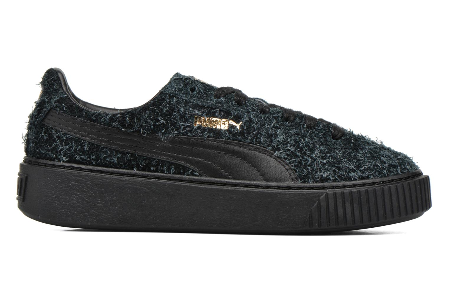 Trainers Puma Suede Creeper Elemental Black back view