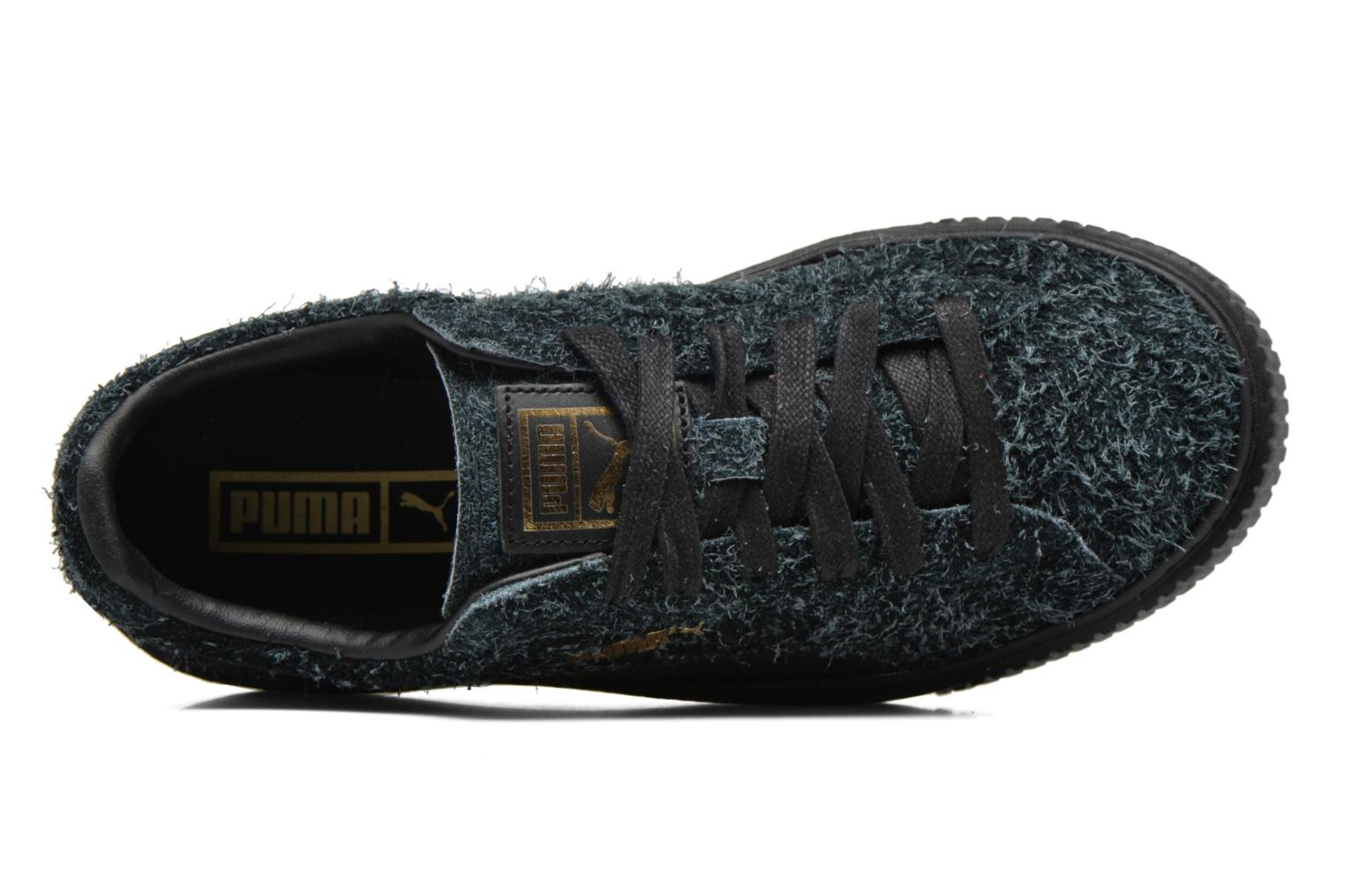Trainers Puma Suede Creeper Elemental Black view from the left