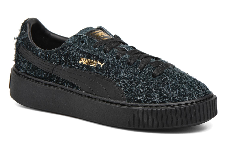 Zapatos promocionales Puma Suede Creeper Elemental (Negro) - Deportivas   Zapatos casuales salvajes