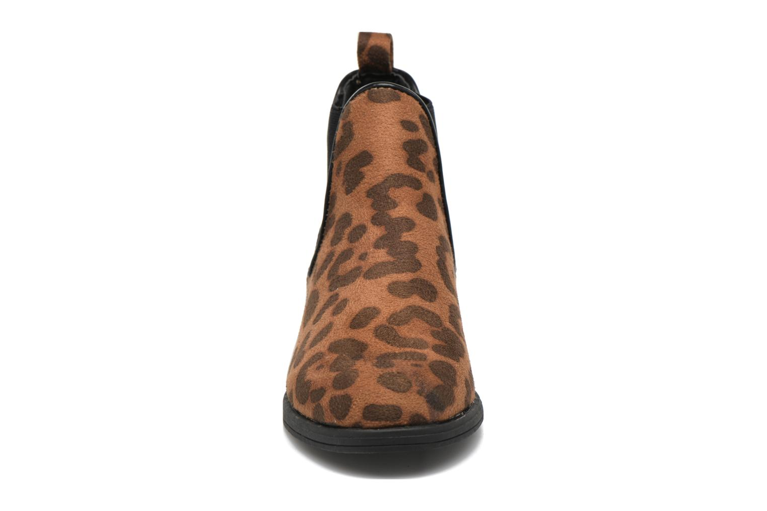 Ankle boots I Love Shoes MCKELSEA Brown model view