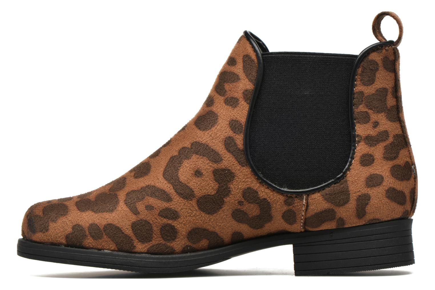Ankle boots I Love Shoes MCKELSEA Brown front view