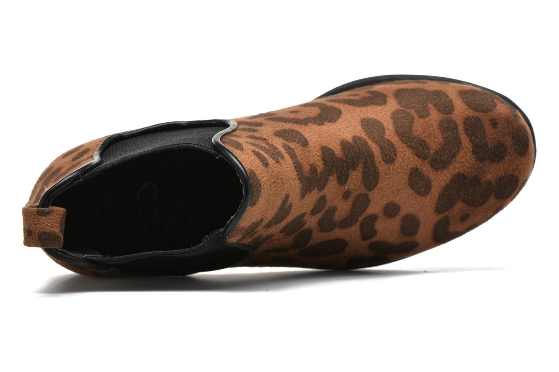 Stiefeletten & Boots I Love Shoes MCKELSEA braun ansicht von links