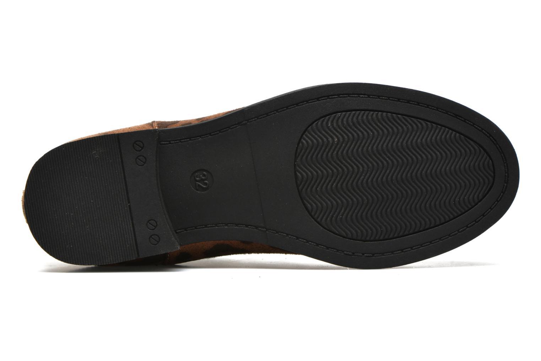 Stiefeletten & Boots I Love Shoes MCKELSEA braun ansicht von oben