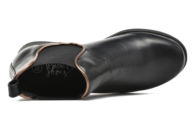 Bottines et boots I Love Shoes MCKELSEA Noir vue gauche