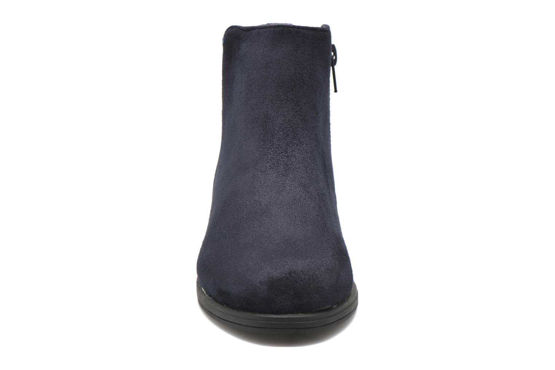 Stivaletti e tronchetti I Love Shoes MCGLIT Azzurro modello indossato