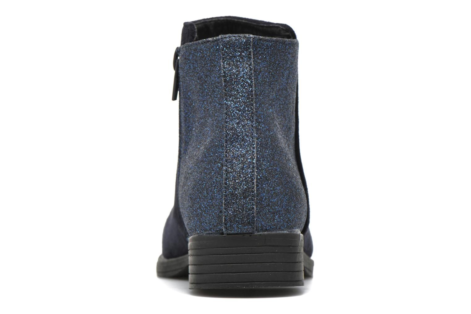 Ankle boots I Love Shoes MCGLIT Blue view from the right