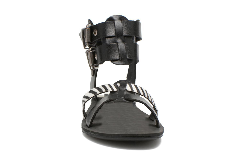 Sandales et nu-pieds I Love Shoes Kiro Noir vue portées chaussures
