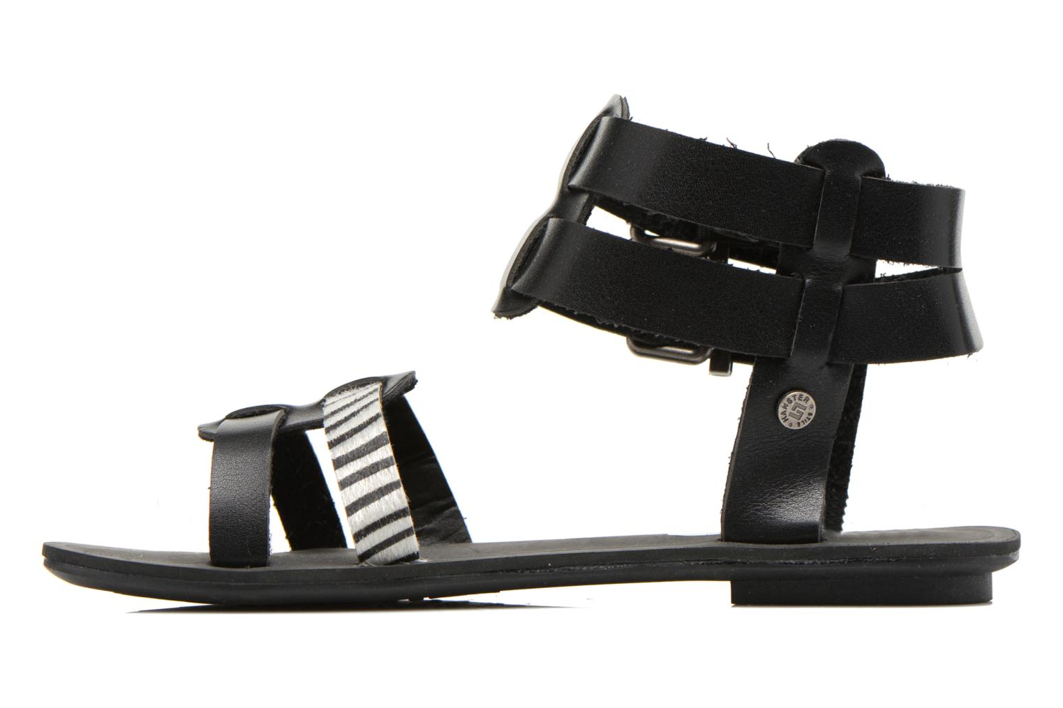 Sandals I Love Shoes Kiro Black front view