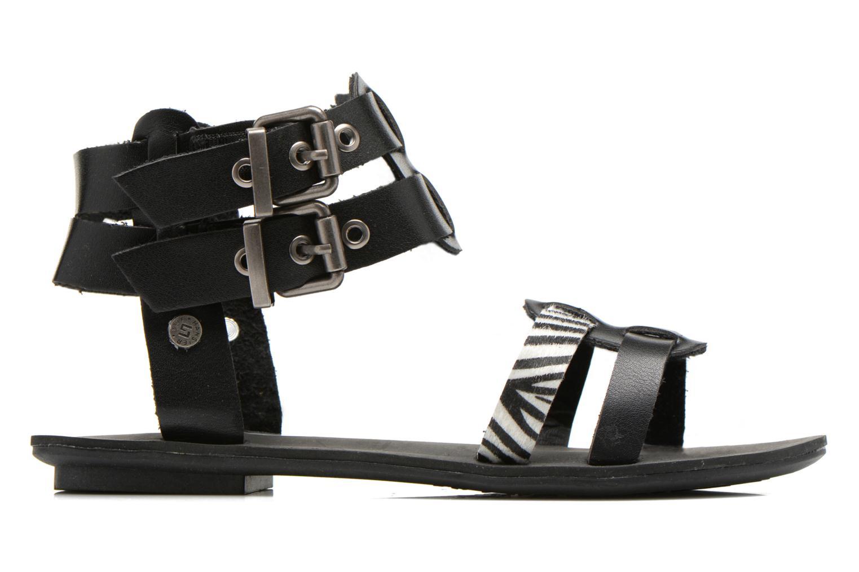 Sandales et nu-pieds I Love Shoes Kiro Noir vue derrière