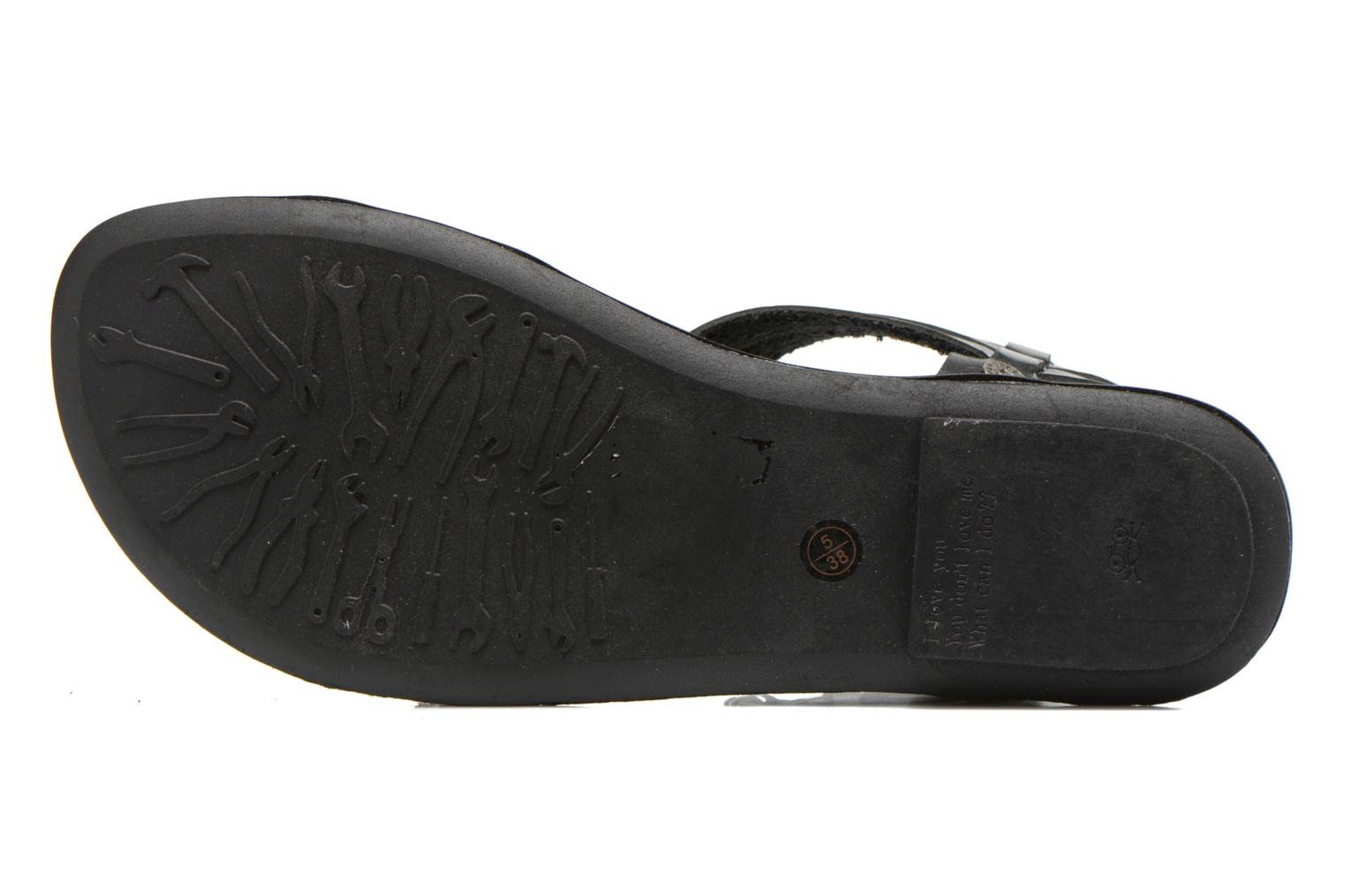 Sandals I Love Shoes Kiro Black view from above