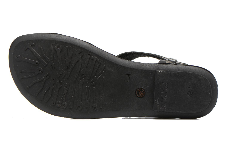 Sandales et nu-pieds I Love Shoes Kiro Noir vue haut