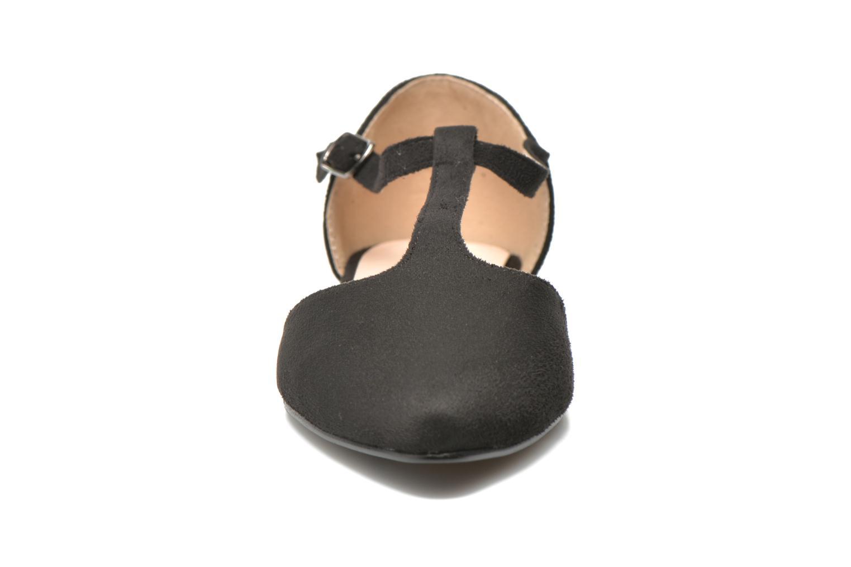 Ballet pumps I Love Shoes Kiba Black model view