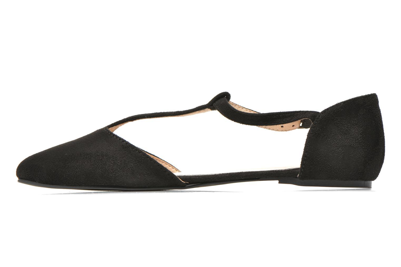 Ballet pumps I Love Shoes Kiba Black front view