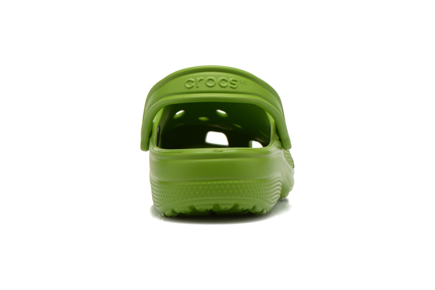 Sandals Crocs Classic H Green view from the right