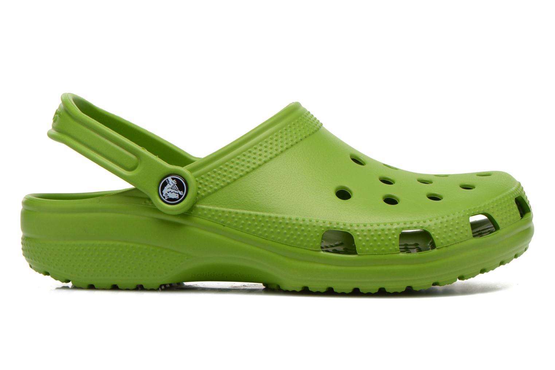 Sandalen Crocs Classic H grün ansicht von hinten