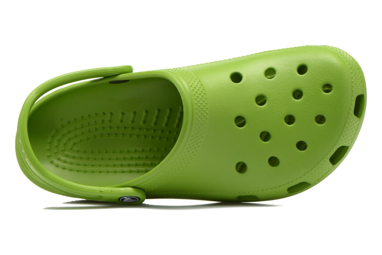 Sandals Crocs Classic H Green view from the left