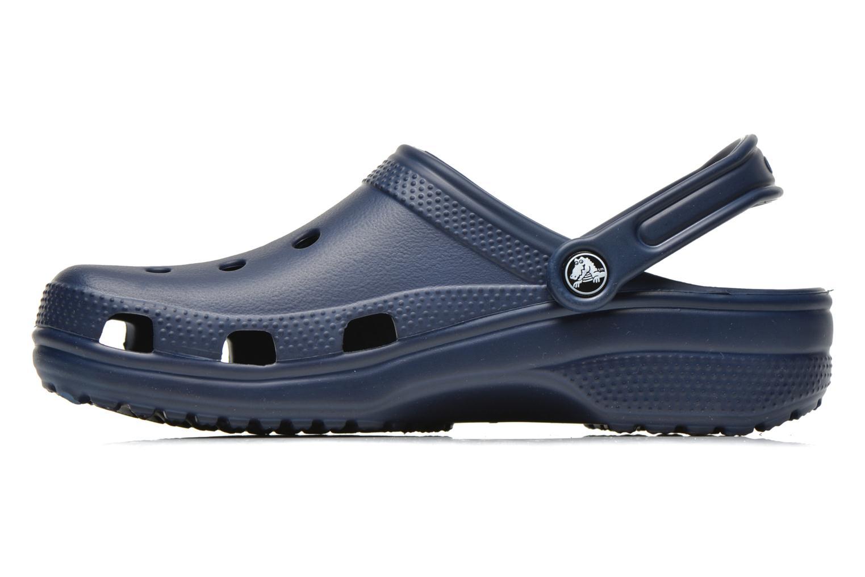 Sandales et nu-pieds Crocs Classic H Bleu vue face