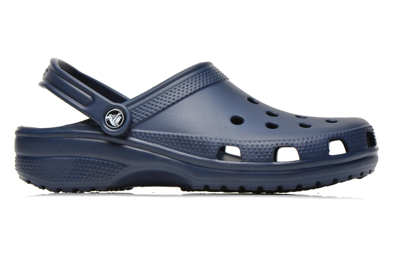 Sandals Crocs Classic H Blue back view