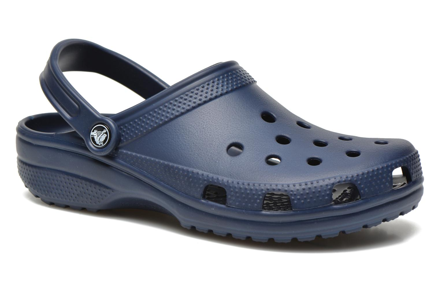 Sandals Crocs Classic H Blue detailed view/ Pair view
