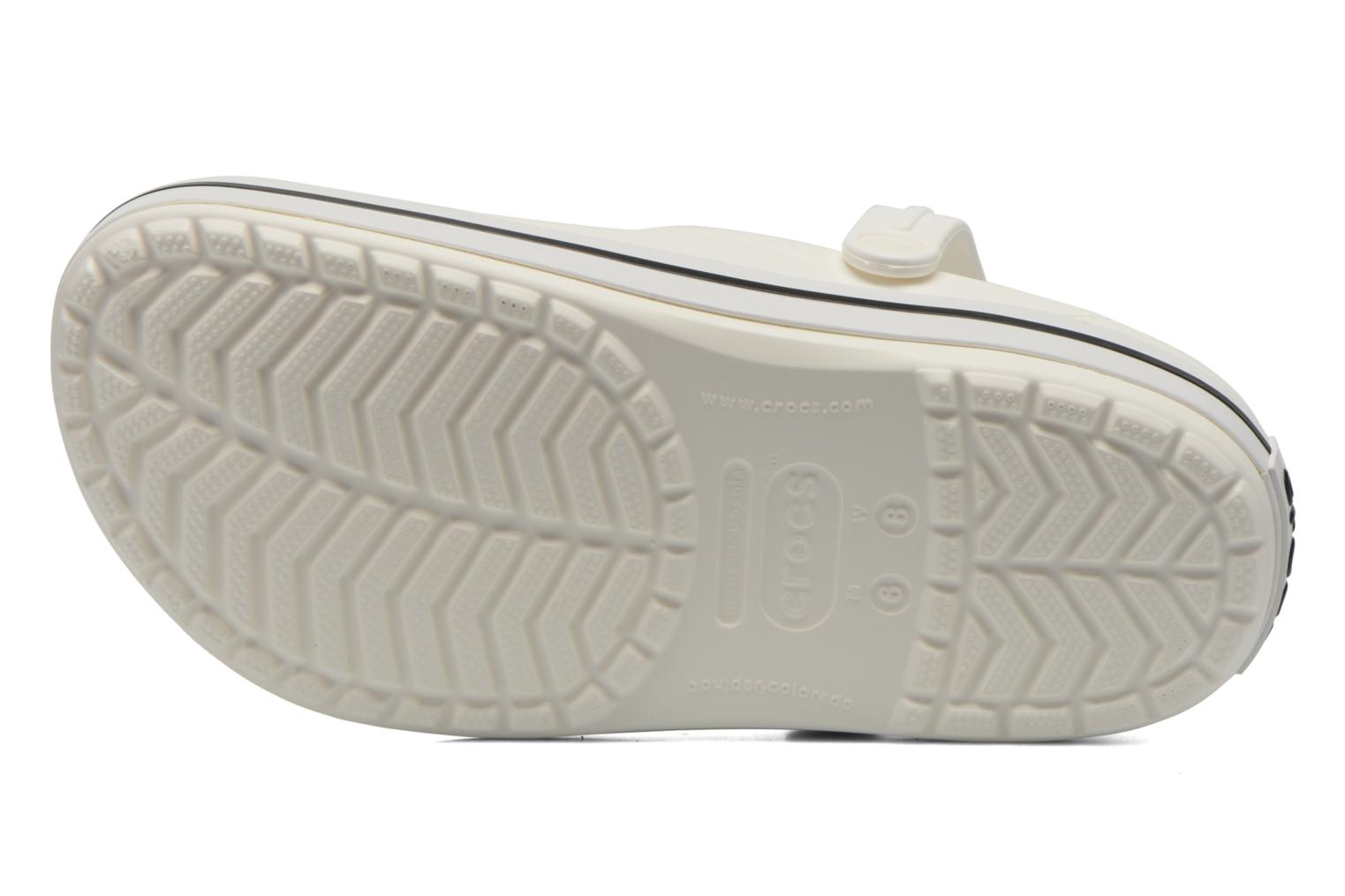 Mules & clogs Crocs Crocband W White view from above