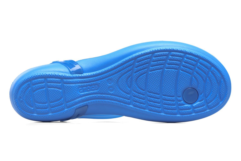 Crocs Isabella T-strap Blue
