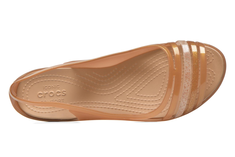 Crocs Isabella Huarache Flat W Bronze