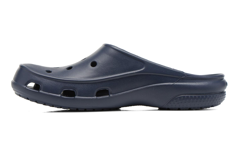 Zuecos Crocs Crocs Freesail Clog W Azul vista de frente