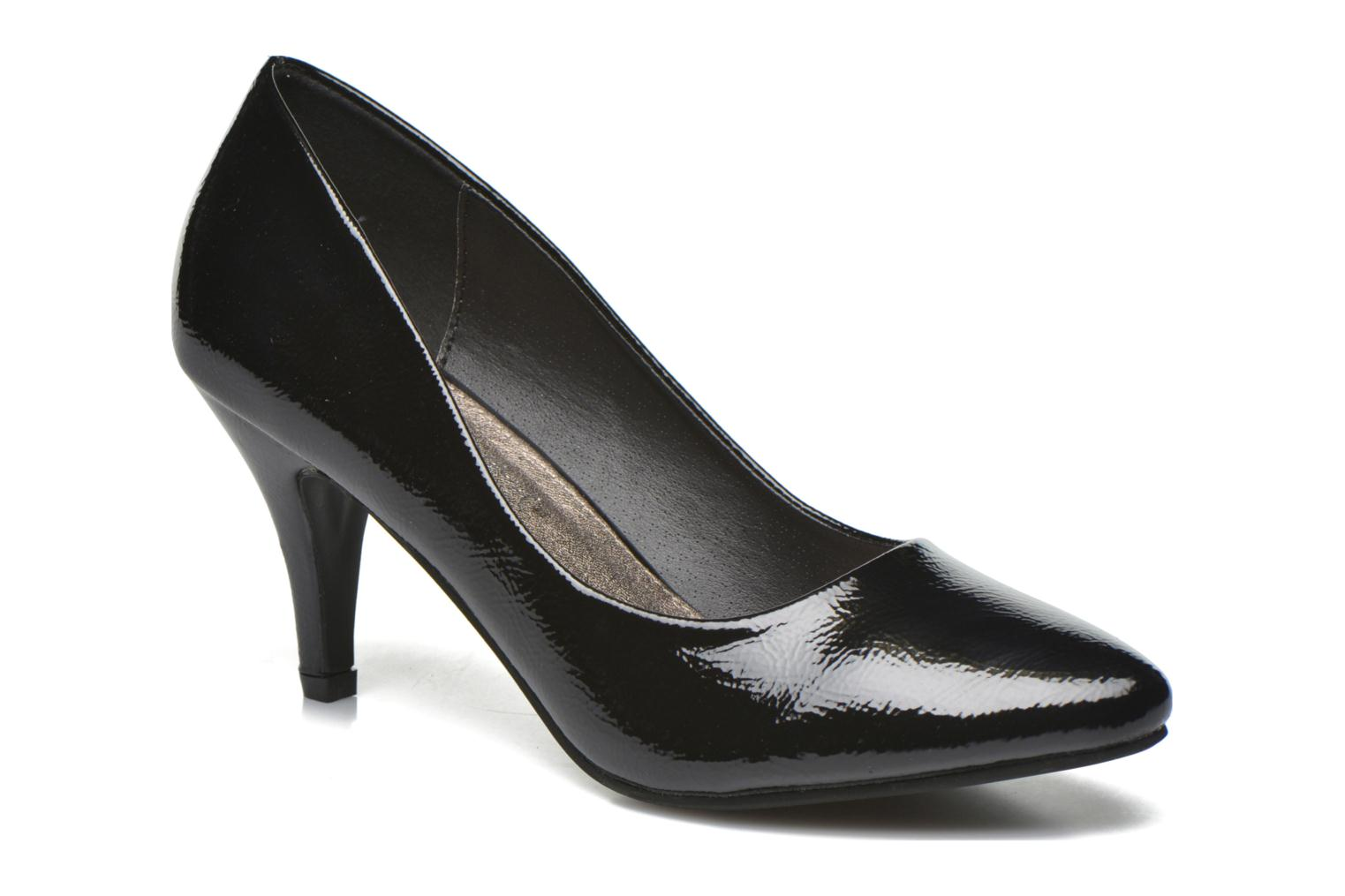 High heels I Love Shoes KIPOINT Black detailed view/ Pair view