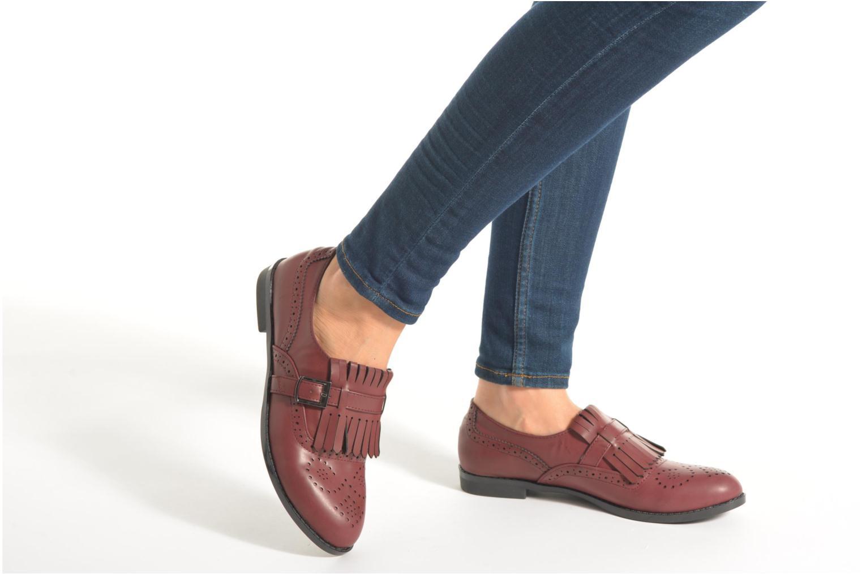 Mocassins I Love Shoes KIFASSE Noir vue bas / vue portée sac