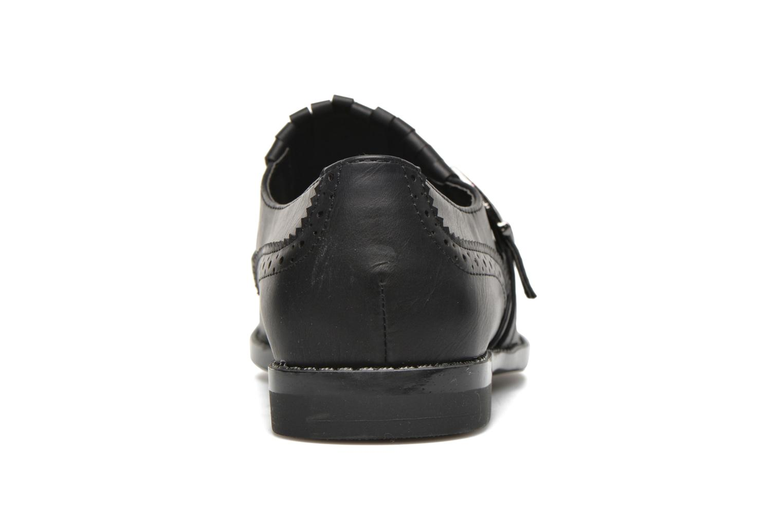 Mocasines I Love Shoes KIFASSE Negro vista lateral derecha