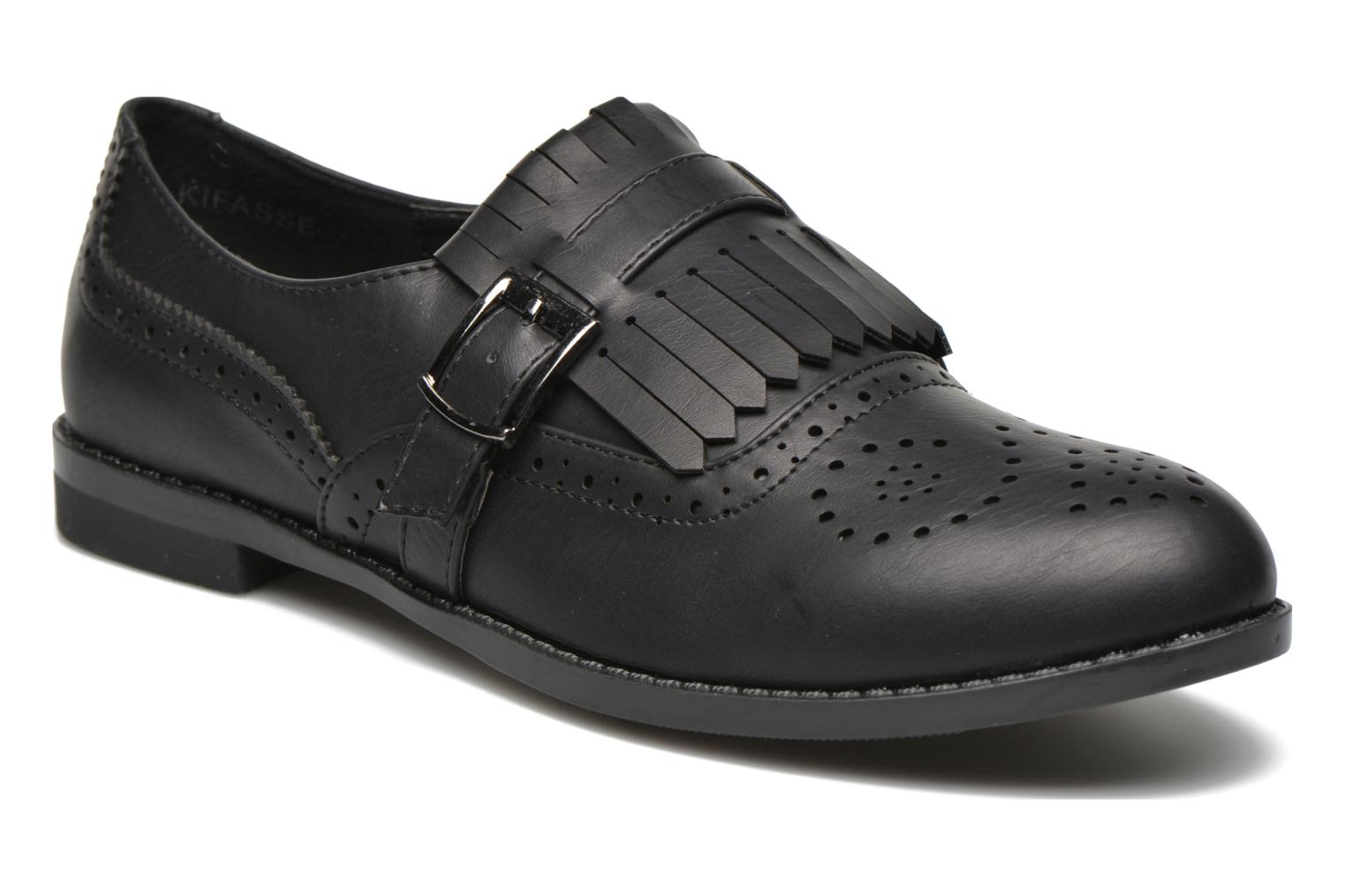 Loafers I Love Shoes KIFASSE Black detailed view/ Pair view