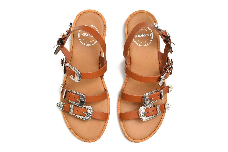Sandalen Made by SARENZA Tennessee Sister #5 braun 3 von 4 ansichten