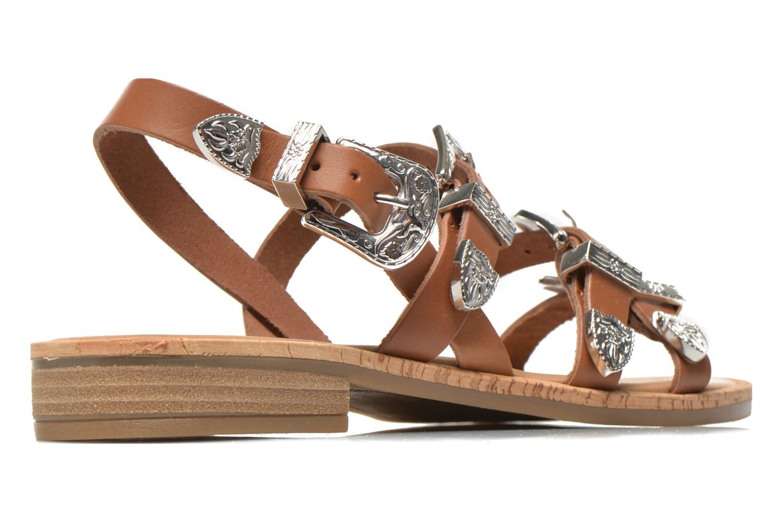 Sandalen Made by SARENZA Tennessee Sister #5 braun schuhe getragen