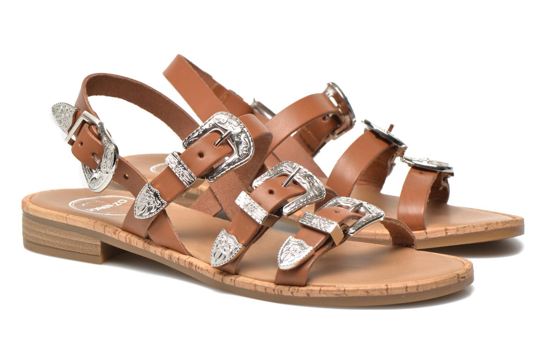 Sandalen Made by SARENZA Tennessee Sister #5 braun ansicht von rechts