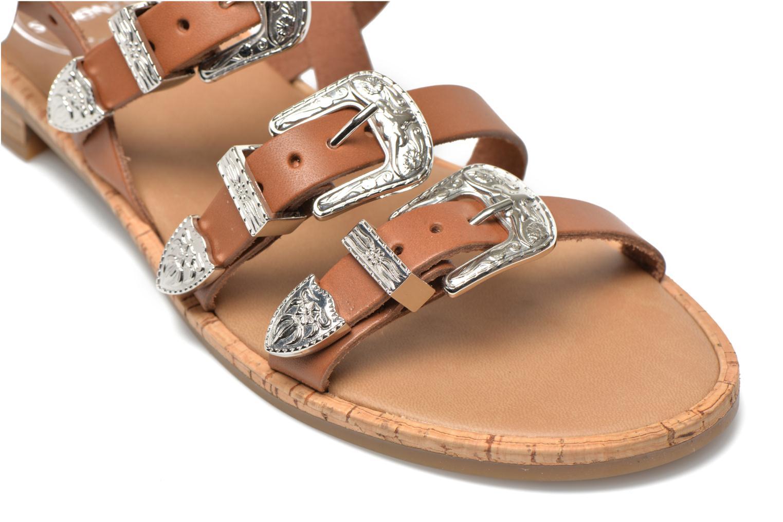 Sandalen Made by SARENZA Tennessee Sister #5 braun ansicht von hinten