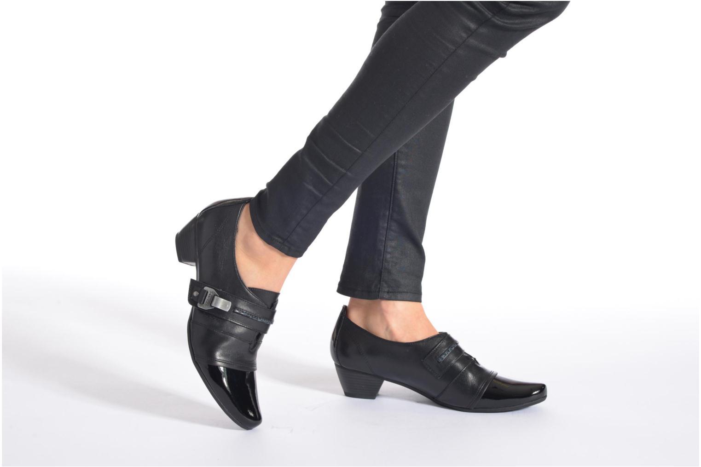 High heels Sweet Dichu Black view from underneath / model view