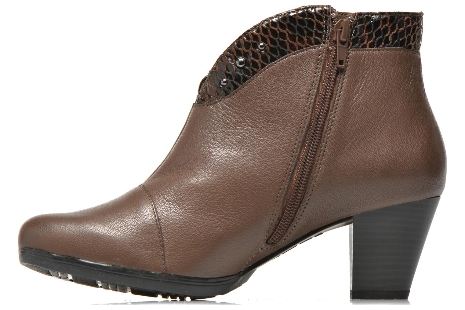 Ankle boots Sweet Tuiter Brown front view