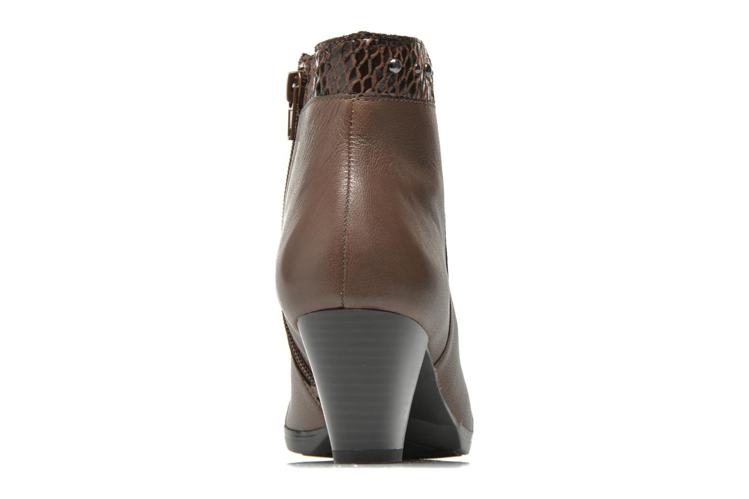 Ankle boots Sweet Tuiter Brown view from the right