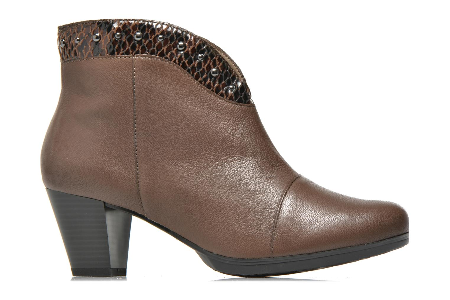 Ankle boots Sweet Tuiter Brown back view
