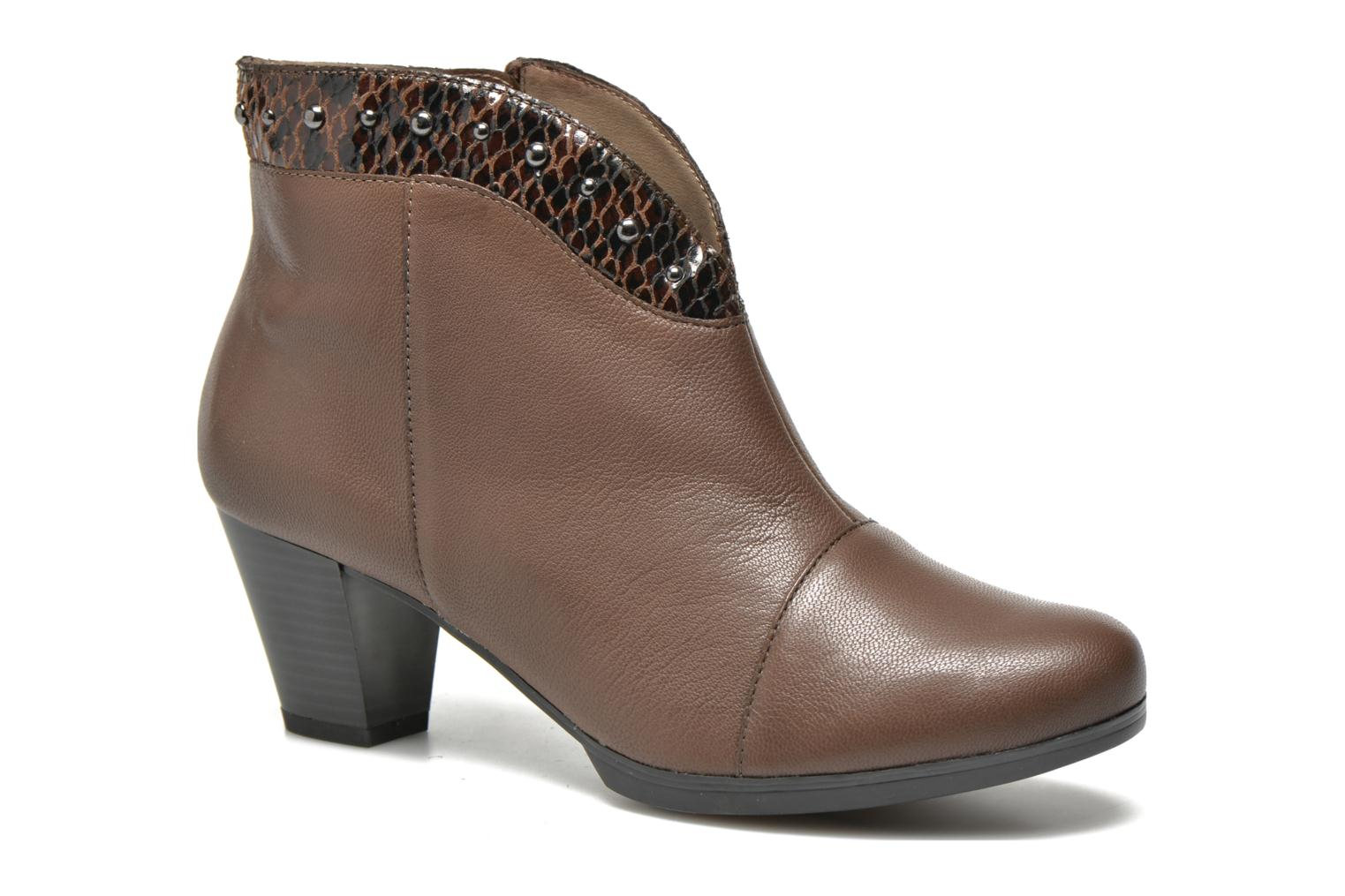 Ankle boots Sweet Tuiter Brown detailed view/ Pair view