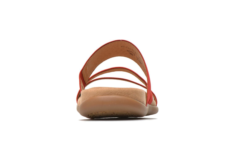 Grandes descuentos últimos zapatos Gabor Pauline (Rojo) - Zuecos Descuento