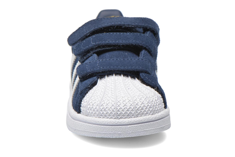 Trainers Adidas Originals Superstar CF I Blue model view