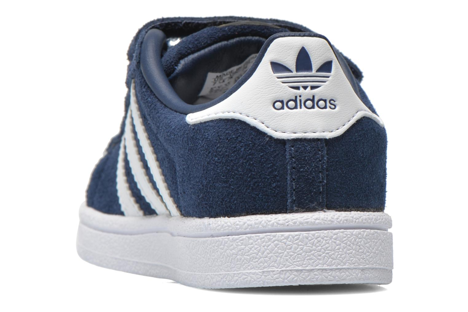 Trainers Adidas Originals Superstar CF I Blue view from the right
