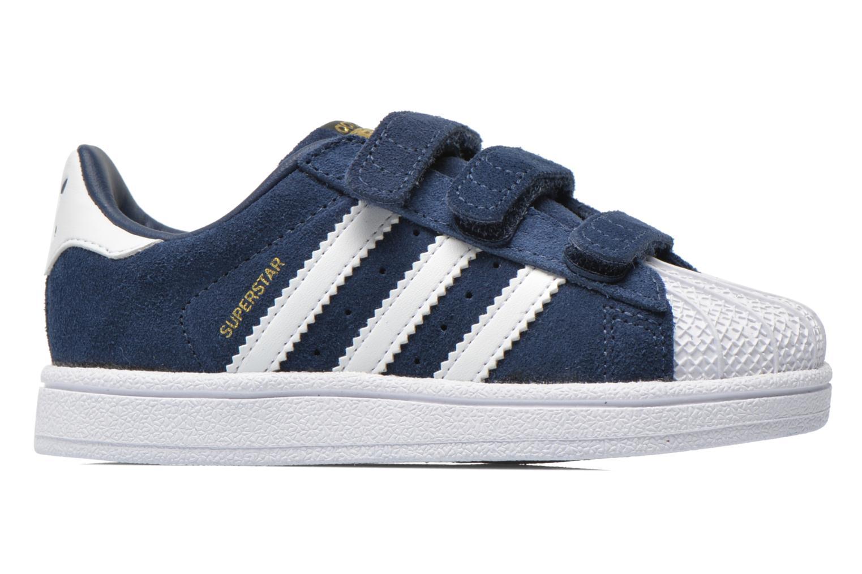 Trainers Adidas Originals Superstar CF I Blue back view