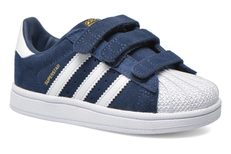 Trainers Adidas Originals Superstar CF I Blue detailed view/ Pair view