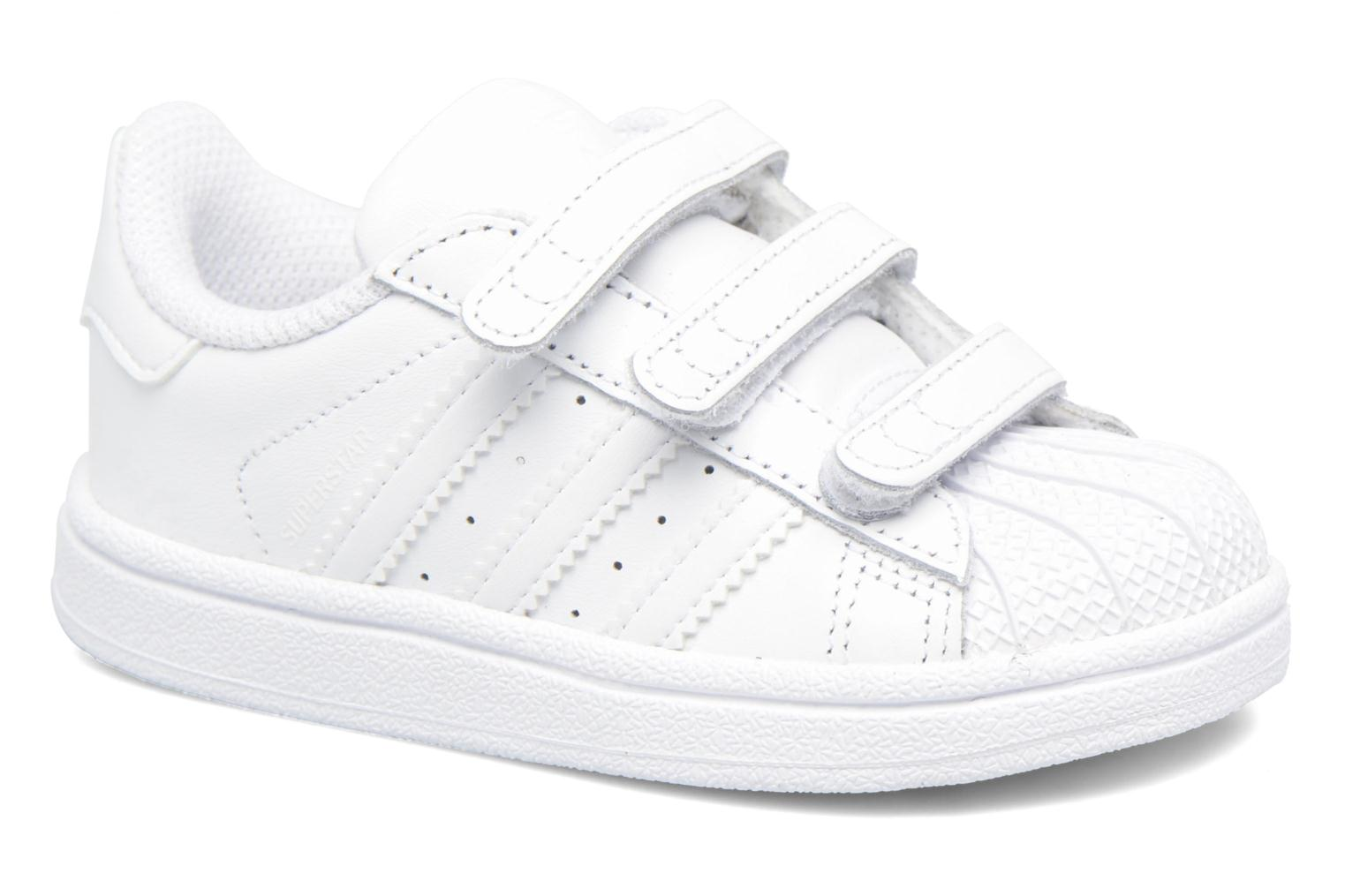 Trainers Adidas Originals Superstar CF I White detailed view/ Pair view