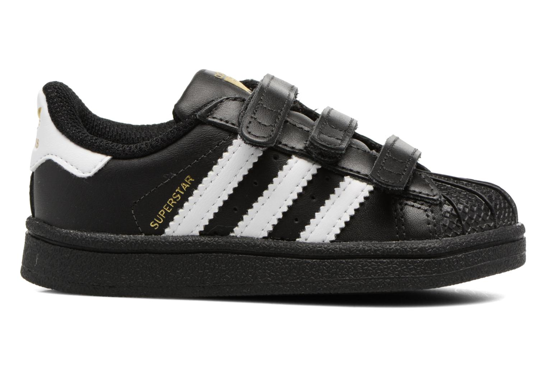 Sneaker Adidas Originals Superstar CF I schwarz ansicht von hinten